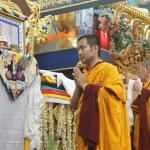 Enthronement HH Penor Yangsi Rinpoche at Namdroling